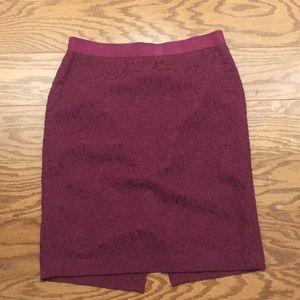 Ann Taylor Lace Skirt